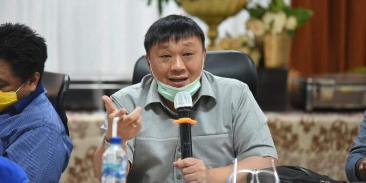 Anggota Fraksi DPR RI Dapil Papua Barat Rico Sia