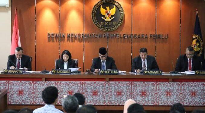 Sidang Dewan Penyelengara Pemilu (DKPP) Republik Indonesia. (Foto :Ist))