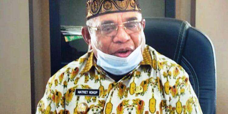 Wakil Bupati Teluk Bintuni Matret Kokop,S.H (Foto : Ist)