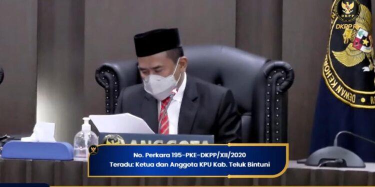 Ketua DKPP RI Prof Muhammad. (Foto : Ist)