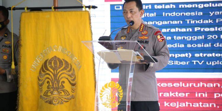 Kapolri Jenderal Listyo Sigit Prabowo. Foto: Divisi Humas Polri