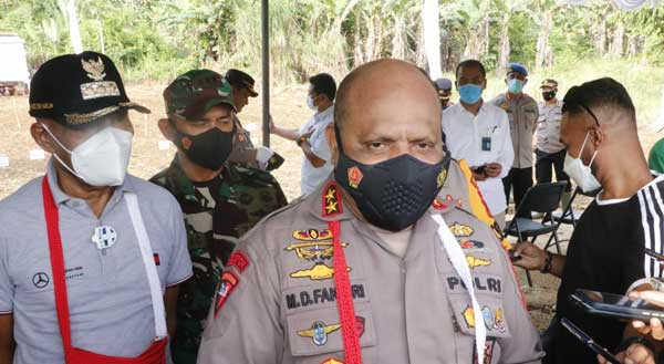 Kapolda Papua Irjen Pol Mathius D. Fakhiri