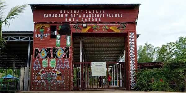 Taman Wisata Mangrove Klawalu, Kota Sorong, Provinsi Papua Barat