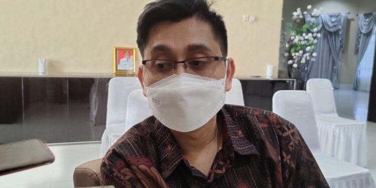 Jubir Satgas COVID-19 Kabupaten Teluk Bintuni dr Wiendo Syahputra.(Foto : KENN)