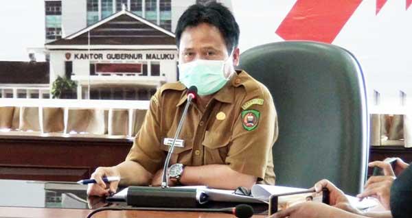 Jubir Satgas Penanganan Covid-19 Provinsi Maluku, dr. Adonia Rerung