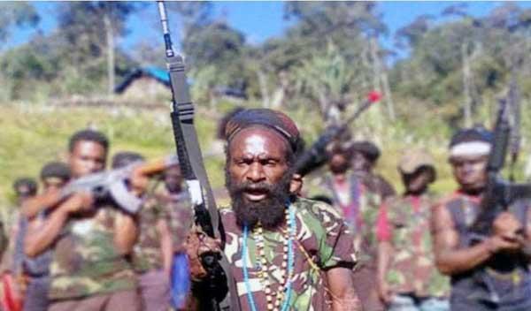 Kelompok Separatis Bersenjata Papua / Foto  : Satgas Nemangkawi