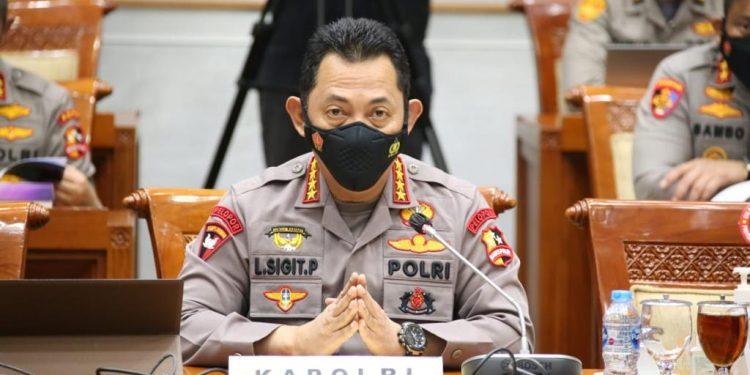 Kapolri Jenderal Polisi. Listyo Sigit Prabowo / Foto: Divisi Humas Polri