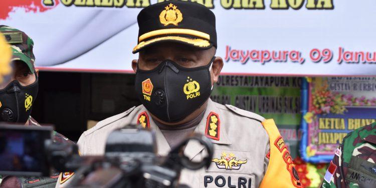Kombes Pol. Gustav R. Urbinas, SH.,S.IK.,M.Pd / Foto: Humas Polresta Jayapura Kota