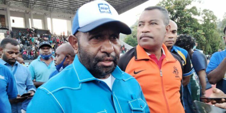 Ricky Ham Pagawak, SH.,M.Si (Ketua Pengprov Pertina Papua) / Foto: Seo Balubun
