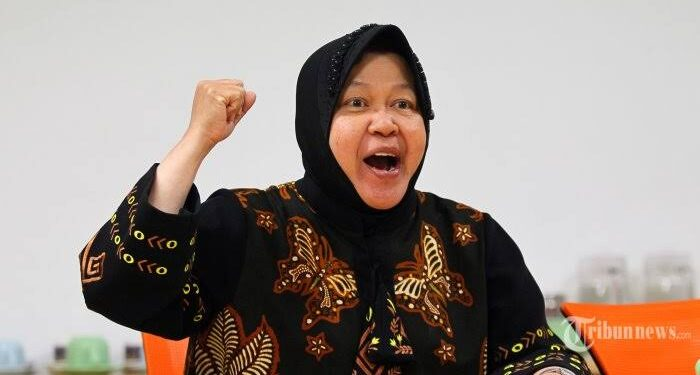 Mensos RI Risma Tri Rismaharini. (Foto : Tribunnews)