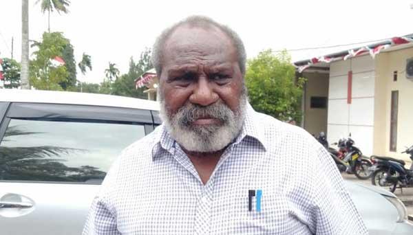 Tokoh Besar Masyarakat Adat Anim-Ha Wilayah Adat Papua bagian Selatan, Drs John Gluba Gebze / Foto : Istimewa