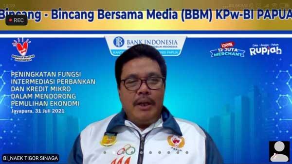 Kepala KPw - BI Provinsi Papua Naek Tigor Sinaga