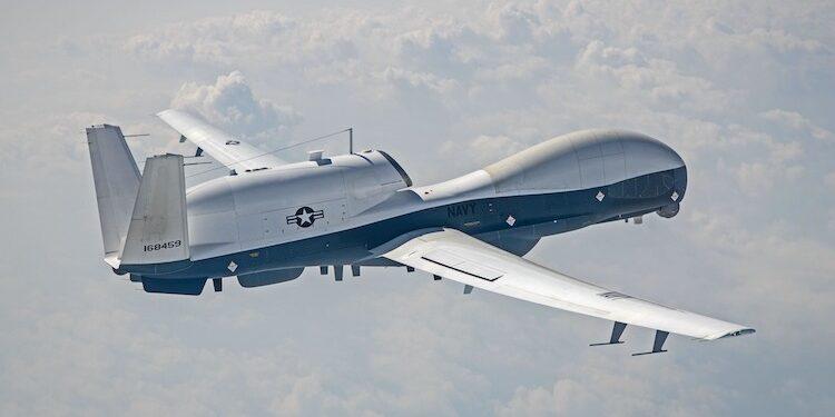 Ilustrasi: MQ-4C Triton   US Navy Facebook