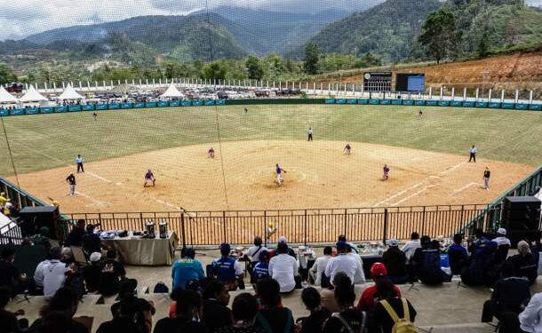 Pertandingan Softball PON XX di lapangan Agus Kafiar Uncen atas, Waena Kota Jayapura / Foto: Istimewa