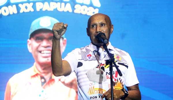 Wali Kota Jayapura Benhur Tomi Mano