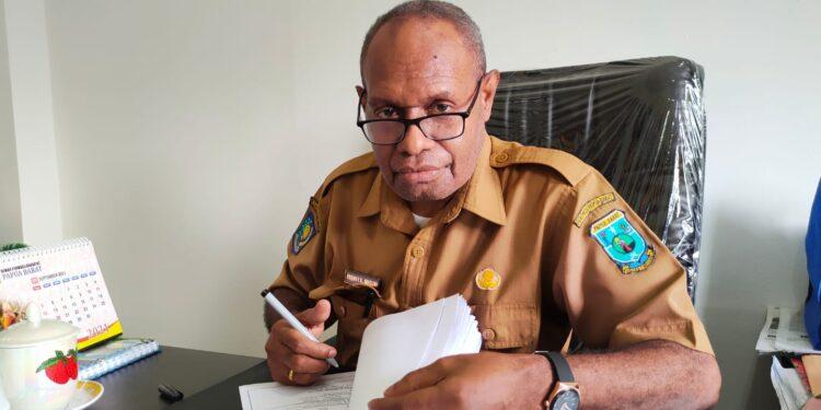 Sekretariat DPR Papua Barat Frenky Kallex Muguri,S.H.,M.A.P.(Foto : KENN)
