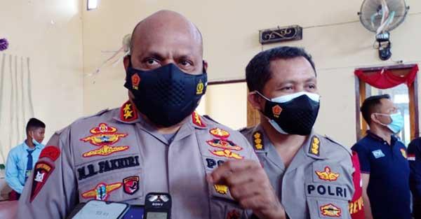 Kapolda Papua, Irjen Pol. Mathius D. Fakhiri,