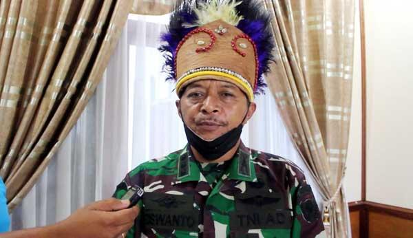 Ketua Tim Penilai Lomba Binter TNI AD, Kolonel Inf Riswanto