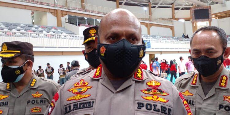 Ketua Pengprov PBVSI Papua, Irjen Pol. Mathius D. Fakhiri / Foto: Seo Balubun