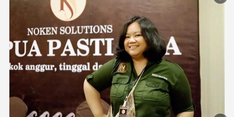 Founder Noken Solutions, Elna Febi Astuti,S.H (Foto : Istimewa)