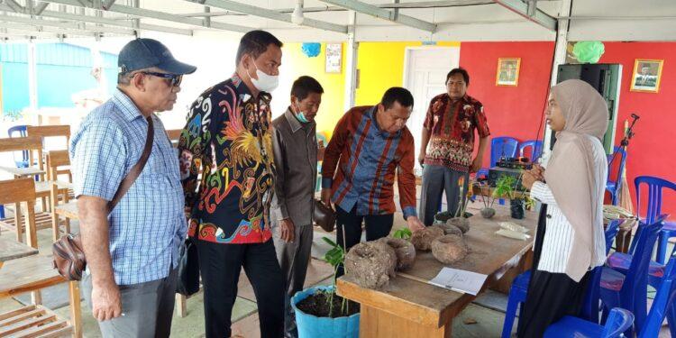 Komisi II DPR Papua Barat kunungi Lokasi Budidaya Porang di Sidrap, Provinsi Sulawesi Selatan, Jumat (17/9/2021).(Foto : Istimewa)