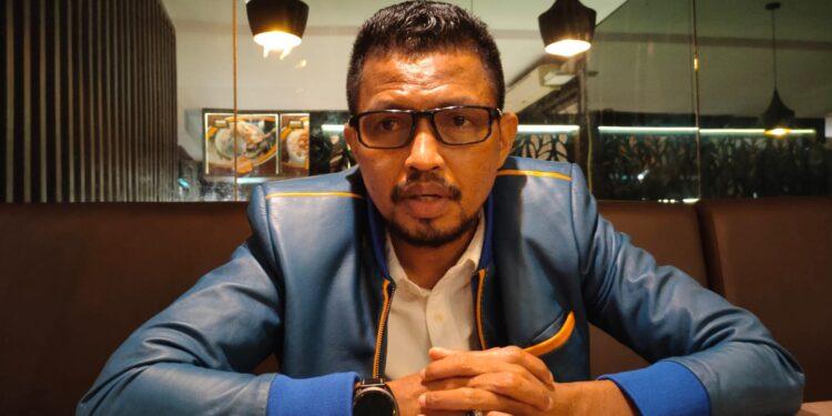 Wakil Ketua Bapemperda DPR Papua Barat Syamsudin Seknun,S.Sos.,S.H.,M.H.(Foto : KENN)