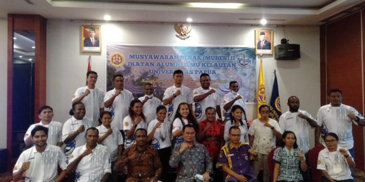 Mubes II Ikatan Alumni Fakultas Kelautan dan Perikanan UNIPA di Manokwari, Jumat (8/10/2021).(Foto : Istimewa)