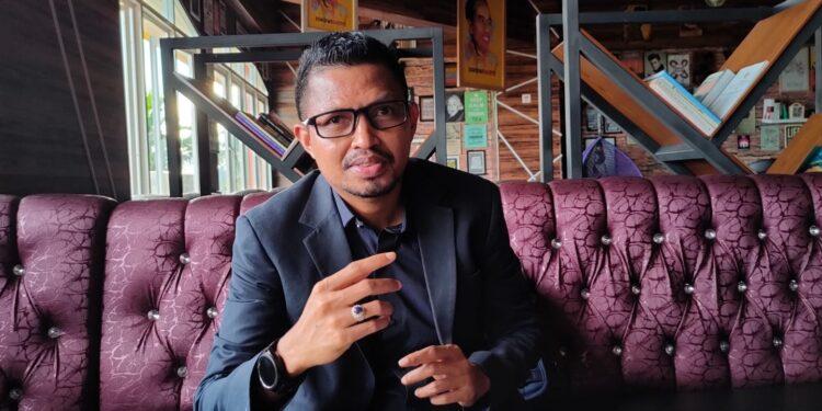 Wakil Ketua Bidang Politik da Pemda DPW Partai NasDem Papua Barat Syamsudin Seknun,S.Sos.,S.H.,M.H.(Foto : KENN)